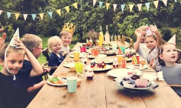 Urodzinowe przekąski dla dzieci